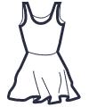 Icon - Skater Dress Swimsuit