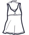 Icon - Halter Dress Swimsuit