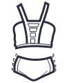 Icon - Cage Up Bikini Set