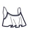Icon - Frill Bikini Top