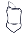 Icon - Classic One Shoulder Swimsuit