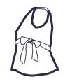 Icon - Babydoll Tankini Top