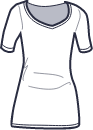 Icon - Wide Neckline Tee