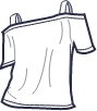 Icon - Cutout Shoulder Tee