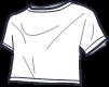 Icon - Tie Back Short Sleeve Crop Tee