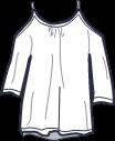 Icon - Flutter Sleeve Tee