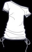 Icon - Off Shoulder Tie-Up Tee